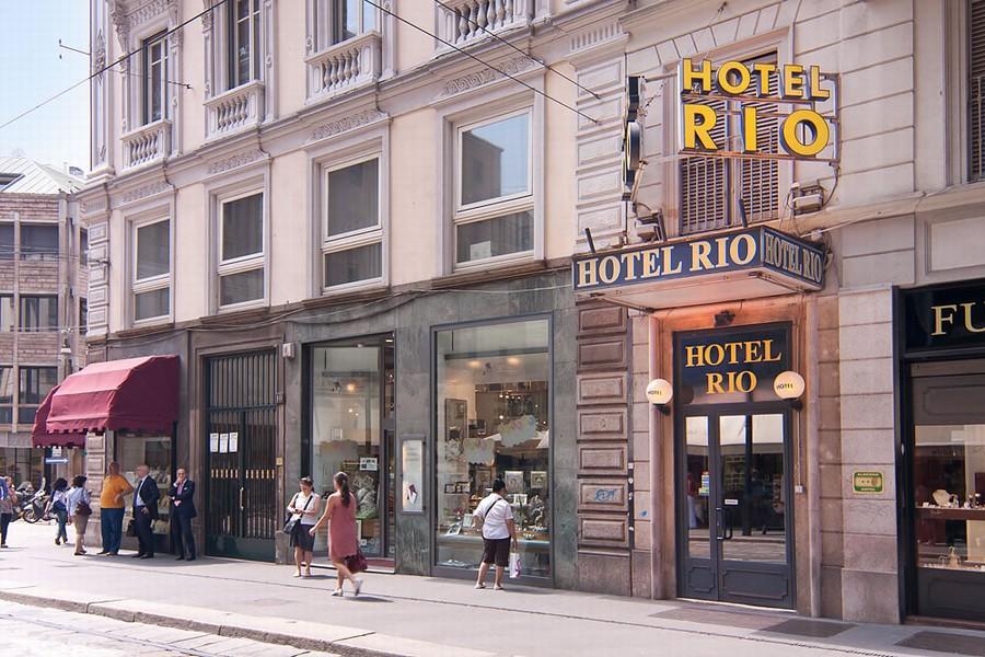 Ambrogio hotels milan rio hotel milano for Hotel milton milano italy